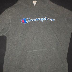 boys XL charcoal champion hoodie